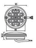 ø 140 mm Achterlicht LED rond Li+Re_49