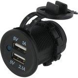 - USB Omvormer Stekkerdoos inbouw, 12/24V._49