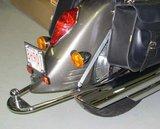 1300 VTX1300 / R & S Retro 2003-2009 Onderlangs spatbord. Dr-156_49