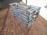 Bloembak frame verrijdbaar met zwenkwielen_7