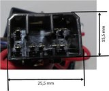 Harley Can-bus Relai-set 6-pins Platte8-pins,  5-dr.aanhanger -0160_6