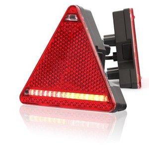 Achterlicht LED driehoek Rechts.