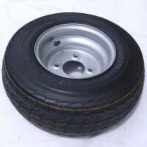 """16,5x650x8"""" Wiel compleet, KINGS Tyre, gebalanceerd."""