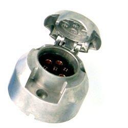 7- Polige stekkerdoos Aluminium
