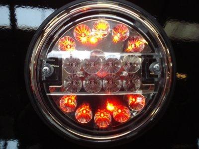 ø 140 mm Achterlicht LED rond Li+Re