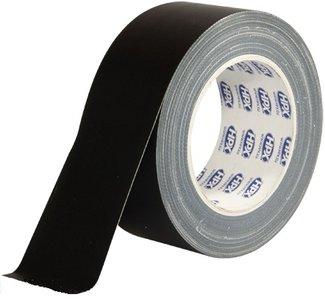 Duct-Tape Zwart, dik, HPX 50mm x 25 Mtr.