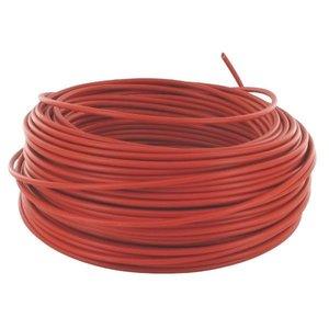 1- aderige Elektrische draad Rood 1 x 2,5 mm²