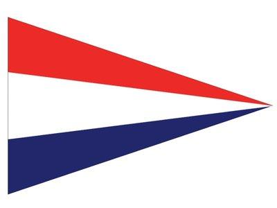 1 Puntvlag Nederland 30x45cm