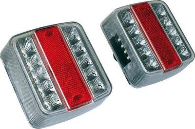 Achterlicht 106x98 mm LED, Li+Re