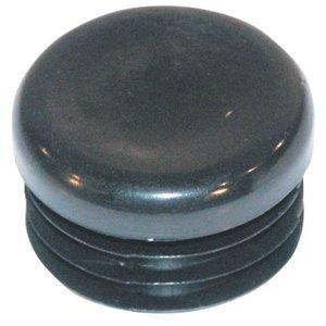 Lamellenstop Rond, vanaf 16mm zwart