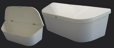 DisselBak, Box Polyester 1100x420x370mm. V-Model