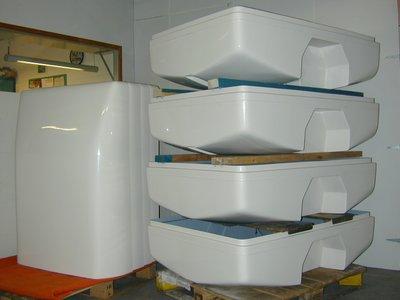 TM600 Polyester bak en deksel