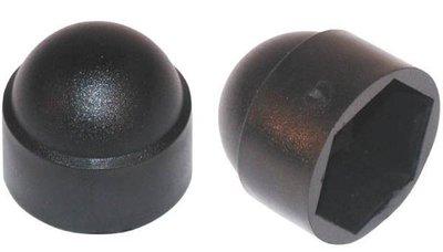 Beschermdop bout of moer, vanaf 20x30mm Zwart