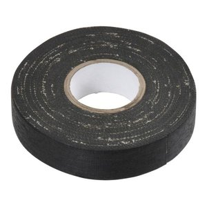 Linnentape zwart 19mmx10mtr.