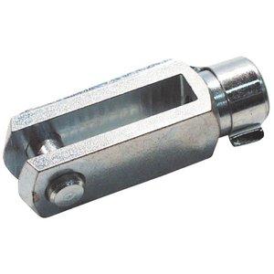 Gaffel + Clip van M5x10 mm