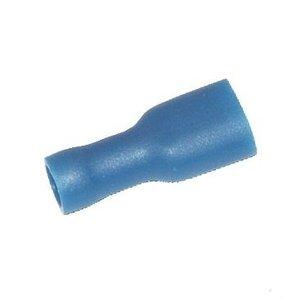 Kabelschoen, vlakschuif Blauw, geisol. 1,5-2,5 mm²