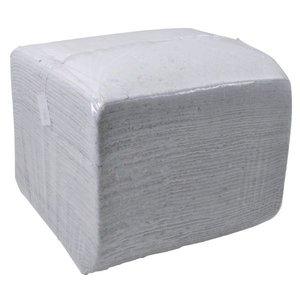 Wegwerpdoek Wit 40x40cm, 10kg.