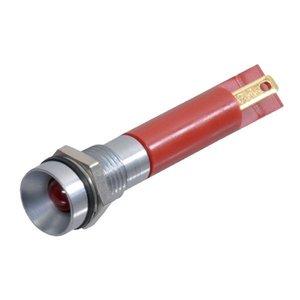 Controlelamp LED Rood inbouw 9,5mm