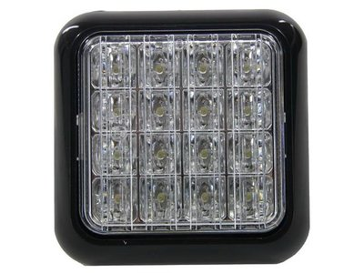 Achteruitrijlamp LED 104x104mm LED