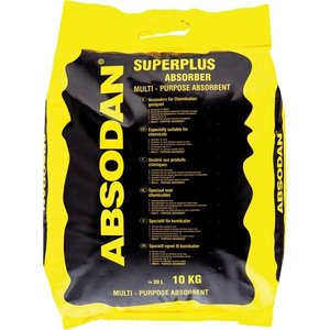 Absortiekorrels, Absodan SuperPlus 10 kg.