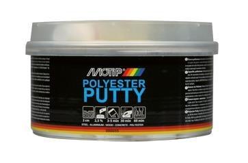 Polyester Plamuur, gevuld 0,25kg.