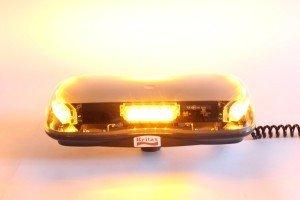 Zwaai- Flitslamp Oranje met magneet 12/24V