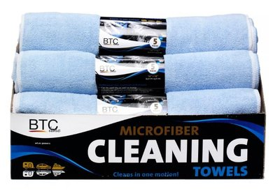 Microvezel doek  blauw 35,5x35,5cm