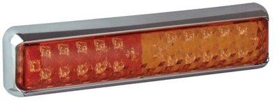 Achterlicht LED 3-functies 200x50mm