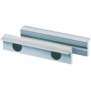 Bankschroef beschermbekken, aluminium + magneet, 100mm, set.