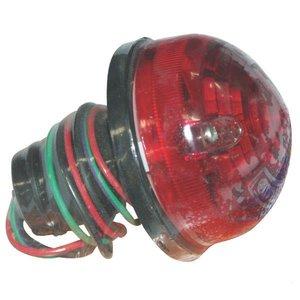Toplamp of Achterlicht, 72 mm Rood