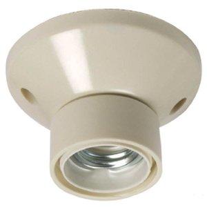 Plafond lamphouder, E27 fitting (groot)
