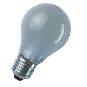 Looplamp stootvast, mat 60W 220V E27