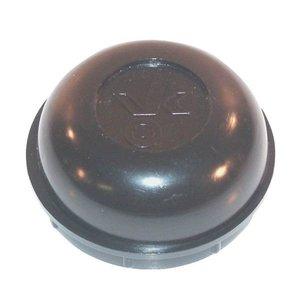 Naafdop, Stofdop, kunststof, 51 mm Vlukon