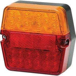 Achterlicht LED Hella 101x95 mm + kent. verlichting