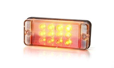 Achterlicht 107,4x46,7mm LED 3-functies Li+Re WAS.