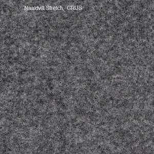 Binnenbekleding kleur Grijs, per strekkende meter (breedte = 1,37 Mtr.)