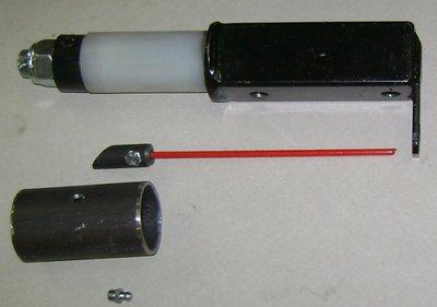 Draaibare kogelkoppeling set zonder koppeling.