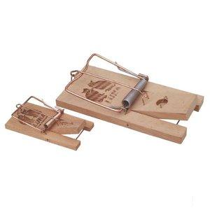 Muizenval, hout model per 2 stuks