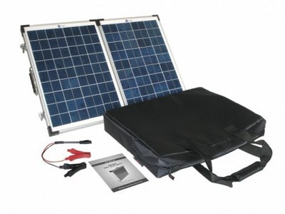 Zonnepaneel set, PV Logic 40 Watt opvouwbaar daglichtpaneel