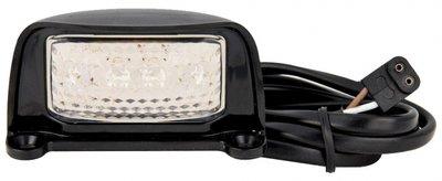 Kentekenverlichting LED opbouw Zwart 76x42x30mm
