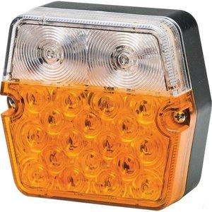 Positielamp- Knipperlicht LED Hella 101x95 mm