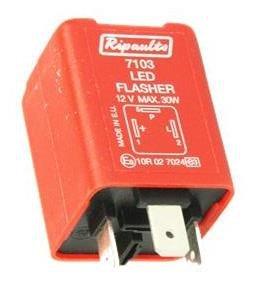 Clignoteur automaat voor LED verlichting 3 polig.