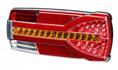 - Achterlicht, Dynaische richting  304x132x48mm  LED Rechts
