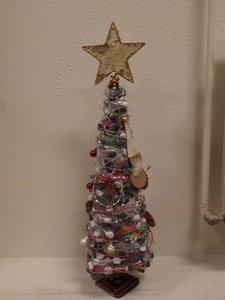 Kerstboom decoratie metaal