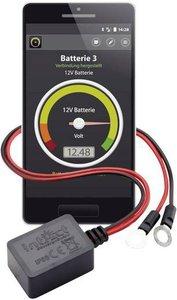 Battery Guard Accubewaker 6 V, 12 V, 24 V via Bluetooth verbinding