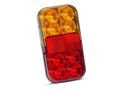- Achterlicht 150x80 mm LED Li+Re 4-functies Tralert.