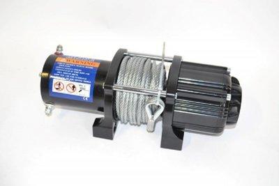 Elektrische Lier/Takel 12volt, 2000 kg.