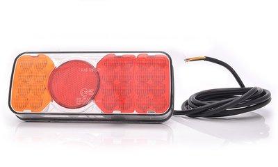- Achterlicht,  LED 200,5x85mm Li+Re.