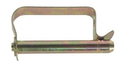 Borgclip ø 10 mm x 65 mm, met platte borgveer