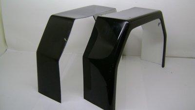 Spatbord Polyester TM600 Zwart